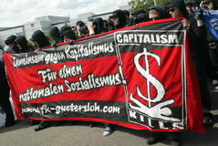 antykapitalizm czarny blok Niemcy