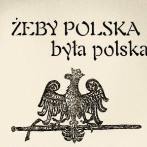 """""""Żeby Polska była polska!"""" Antologia publicystyki konspiracyjnej podziemia narodowego 1939–1950"""