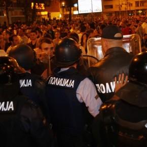 Macedonia: Protest przeciwko rządowi