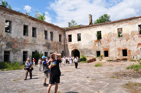 Klewań, pałac Czartoryskich