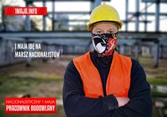1 maja w Warszawie spotykamy się o 15:00 na Pl. Na Rozdrożu