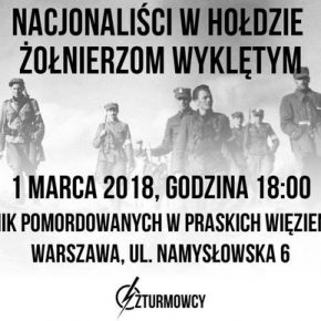 Zaproszenie: Szturmowcy w hołdzie Wyklętym w Warszawie (01/03/2018)