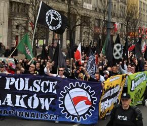 Warszawa: Nacjonalistyczny 1 maja 2013