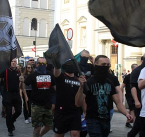 Święto Pracy w Warszawie: Komentarz Szturmowców, wideo oraz zdjęcia