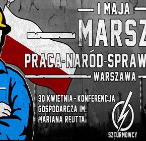 Święto Pracy: Konferencja i pochód w Warszawie