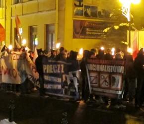 Chełm: Manifestacja antykomunistyczna