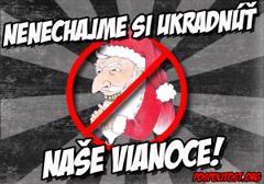 """""""Nie dajmy ukraść naszych świąt"""" - kampania słowackich nacjonalistów"""