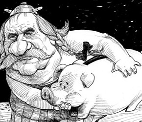 Krótkie studium przypadku Gérarda Depardieu