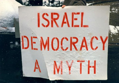 Izraelczycy chcą oddawać swoje głosy Palestyńczykom