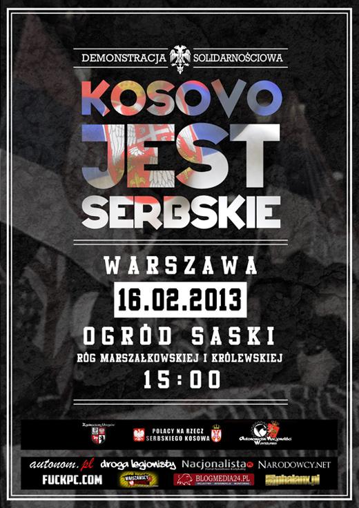 kosowo2013plakat