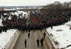 Kosowscy Serbowie ogłaszają akcję obywatelskiego nieposłuszeństwa