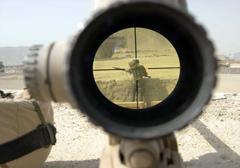 USA: Ironia losu, najlepszy snajper w kraju zastrzelony