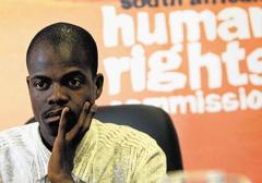 RPA: Czarnoskóry dziennikarz chciał świętować śmierć białych dzieci