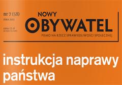 Nowy Obywatel, Zima 2012/2013, nr 7 (58)