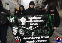 Czechy: Polscy nacjonaliści na solidarnościowej demonstracji w Ostrawie