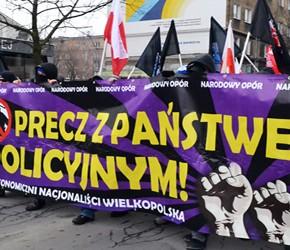 """Poznań: """"Precz z państwem policyjnym!"""""""