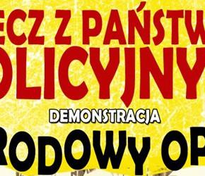 """Poznań: Demonstracja """"Precz z państwem policyjnym!"""" – 09.03"""