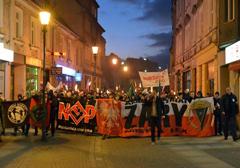 Żary: II Marsz Pamięci Żołnierzy Wyklętych