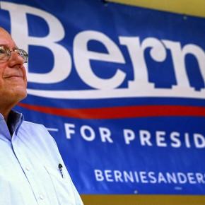 Sanders przeciwko otwartym granicom