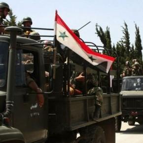 """Syryjska armia prowadzi ofensywę przeciwko """"rebeliantom"""""""