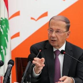 Prezydent Libanu przeciwko obcej ingerencji