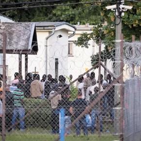 Węgry: Bunt w obozie dla uchodźców