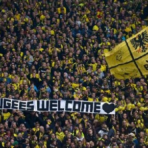 Fanklub Borussi Dortmund wyrzuca zwolenników Alternatywy dla Niemiec