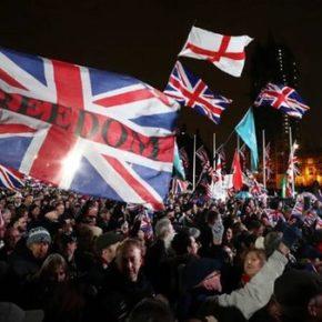 Brytyjczycy świętowali opuszczenie Unii Europejskiej