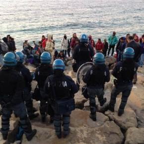 Włoska policja zlikwidowała obóz dla imigrantów