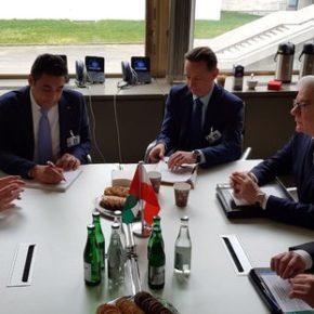 Spotkali się szefowie dyplomacji Polski i Palestyny