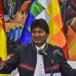 Nakaz aresztowania Moralesa