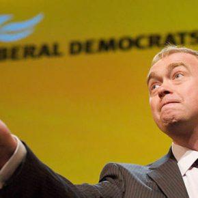 Lider brytyjskich liberałów zrezygnował z powodu chrześcijańskich poglądów