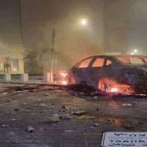 Arabowie podpalili synagogi w izraelskim Lod