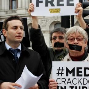 Turcja: Protest dziennikarzy w Ankarze