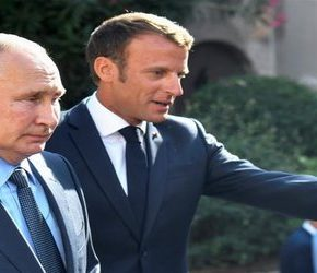 Macron wyciąga rękę do Putina