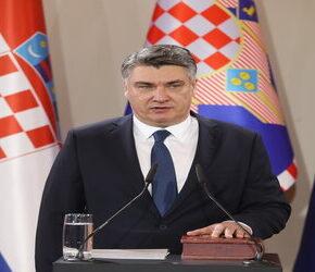 Lewicowy chorwacki prezydent krytykuje federalizację Unii Europejskiej