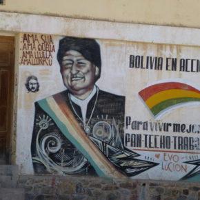 Evo Morales oskarża opozycję o zamach stanu