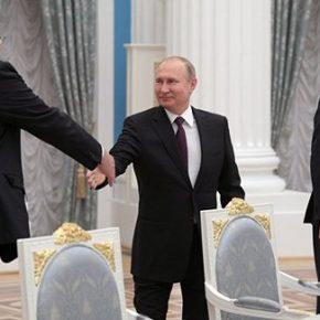 Putin spotkał się z francuskim biznesem