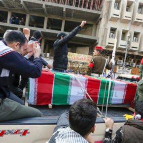 Tysiące Irakijczyków pożegnało generała Solejmaniego