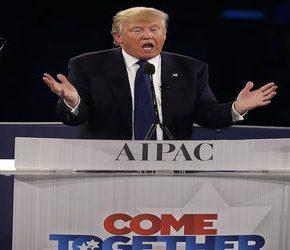 """Trump potępia """"antysemityzm"""" w Stanach Zjednoczonych"""