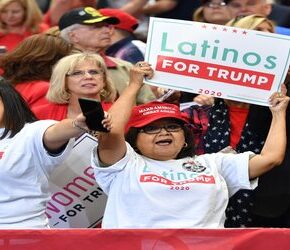 Trump liczy na mniejszości