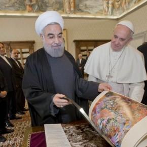 Prezydent Iranu spotkał się z papieżem Franciszkiem