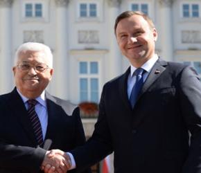 Prezydenci Polski i Palestyny spotkali się w Warszawie