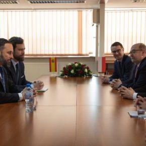 Kaczyński spotkał się z liderem hiszpańskiej prawicy
