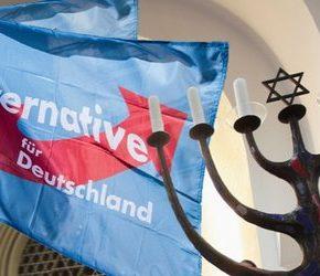 Alternatywa dla Niemiec broni Izraela