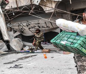 """Turcy i """"rebelianci"""" zajęli Afrin (+WIDEO)"""