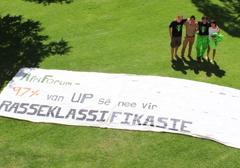 """Biali studenci w Pretorii przeciwko """"pozytywnej dyskryminacji"""""""