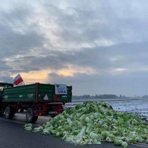 """Rolnicy rozpoczęli nowe """"powstanie chłopskie"""""""