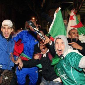 Algierczycy znów demolowali francuskie miasta