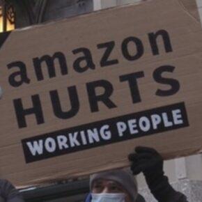 Pracownicy Amazona protestowali pod domem szefa